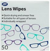Boots Lens Wipes 50s