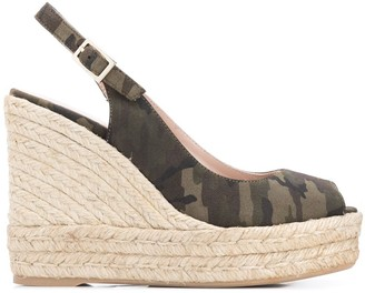 Paul Warmer Camouflage Wedge Sandals