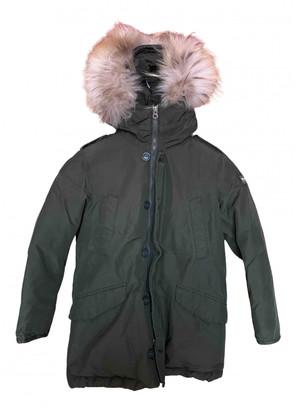 Woolrich Green Polyester Jackets & Coats