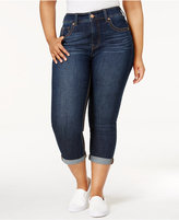 Melissa McCarthy Trendy Plus Size Cropped Skinny Jeans