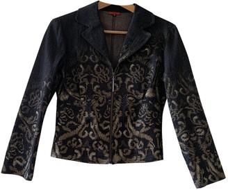 Romeo Gigli Black Cotton Jacket for Women
