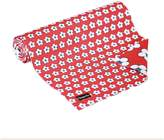 Christopher Vine Design Kitchen Collection Cotton Bud Table Runner, Red