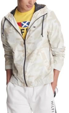 Tommy Hilfiger Men's Skylar Full-Zip Camouflage Windbreaker Jacket, Created for Macy's
