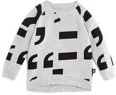Nununu Boys' Punctuation Sweatshirt - Sizes 2-9