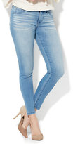New York & Co. Soho Jeans - Seamless Ankle - Unstoppable Blue Wash