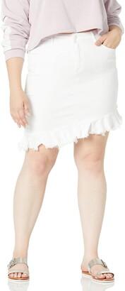 Lola Jeans Women's Plus Size Summer Skirt