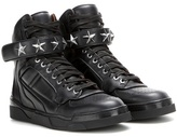 Givenchy Tyson Stars leather high-top sneakers