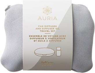 Auria Fan Diffuser and Eucalyptus Diffuser Oil Travel Set