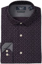Original Penguin Heritage Slim Fit Alphabet Print Dress Shirt