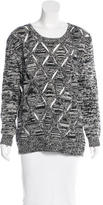 Opening Ceremony Wool-Blend Cutout Sweater