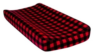 Trend Lab Buffalo Check Flannel Changing Pad Cover Bedding