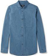 A.p.c. - Button-down Collar Denim Shirt