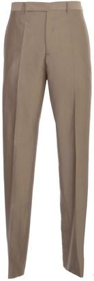 Rick Owens Pants Slim Silk And Cotton