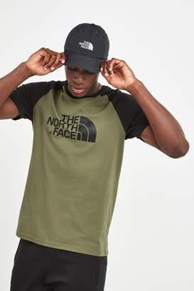 The North Face Mens Raglan T-Shirt - Green
