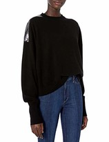 The Kooples Women's Women's Pullover Sweater with Sequined Knit Details