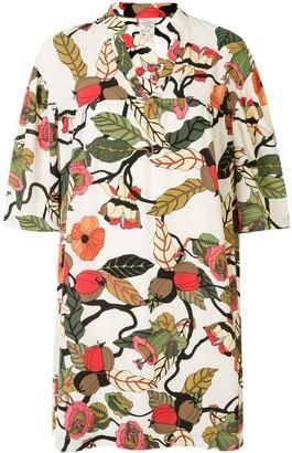 Baum und Pferdgarten Apia floral-print mini dress