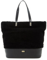 Australia Luxe Collective Bowery Genuine Shearling Leather Tote
