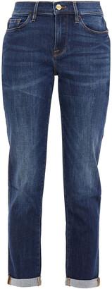 Frame Le Garcon Mid-rise Slim-leg Jeans