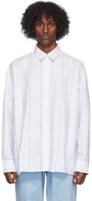 Études White Illusion Striped Shirt