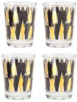 Rosanna Monte Carlo Set of 4 Double Old Fashioned Glasses