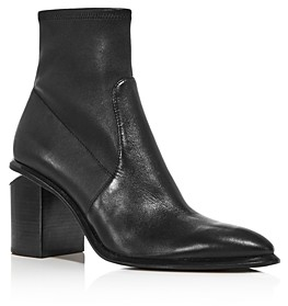 Alexander Wang Women's Anna Stretch Leather Booties