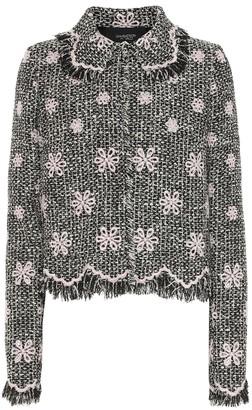 Giambattista Valli Embroidered tweed jacket