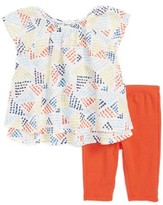 Splendid Infant Girl's Print Top & Leggings Set