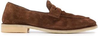 Alberto Fasciani almond toe loafers