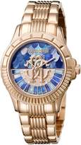 Roberto Cavalli LOGO DIAL Women's Swiss-Quartz Stainless Steel Bracelet Watch