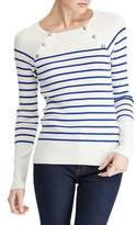 Lauren Ralph Lauren Striped Crewneck Sweater