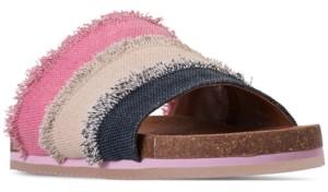 BearPaw Little Girls' Romi Slide Sandals from Finish Line