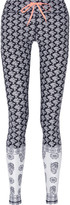 The Upside Printed stretch-jersey leggings