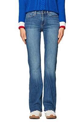 Esprit edc by Women's 998cc1b825 Bootcut Jeans, (Blue Medium Wash 902), W28/L32 (Size: 28/32)