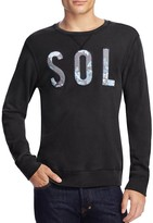Sol Angeles Embroidered Logo Sweatshirt
