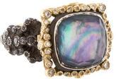 Armenta Two-Tone Old World Diamond Ring