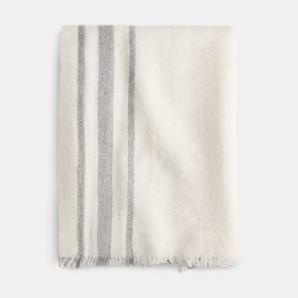 James Perse Sarti Cashmere Striped Scarf