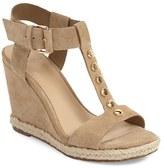 Marc Fisher Women's 'Kelli' Studded Wedge Sandal