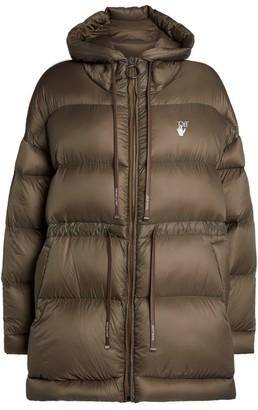 Off-White Longline Puffer Jacket