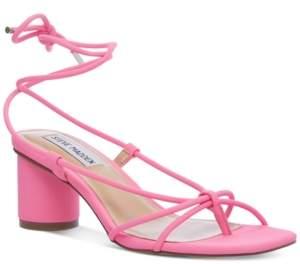 Steve Madden Women's Ivanna Ankle-Tie Sandals