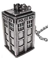 Doctor Who Umart David Tenant Matt Smith Police Box Tardis Pendent Necklace