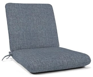 Red Barrel Studio Indoor/Outdoor Rocking Chair Cushion Red Barrel Studio Fabric: Dark Gray