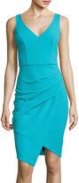 Bisou Bisou Sleeveless V-Neck Envelope Front Dress