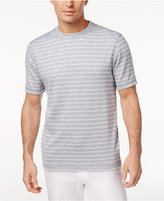Tasso Elba Men's Performance UV Protection Striped T-Shirt, Only at Macy's