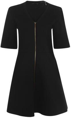 Armani Exchange Zip Detail Dress