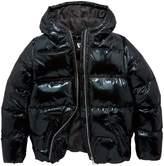 Very High Shine Padded Hooded Jacket