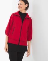 Chico's Neema Pleated-Sleeve Jacket