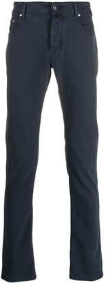 Jacob Cohen straight-leg pocket square trousers
