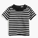 J.Crew Girls' ruffle-necklace top