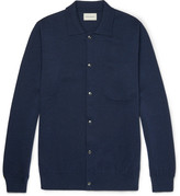 Oliver Spencer Roxwell Wool Cardigan - Navy