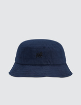 Stussy Wax Cotton Lion Bucket Hat